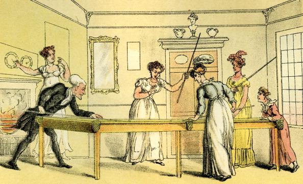 レクレーション活動「'The billiard table'」:写真・画像(6)[壁紙.com]