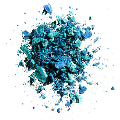 Sensory Perception「CRUSHED EYESHADOW BLUE AND GREEN」:スマホ壁紙(1)