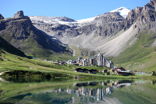 Savoie「SKI OF MOUNTAIN RESORT OF TIGNES」:スマホ壁紙(12)