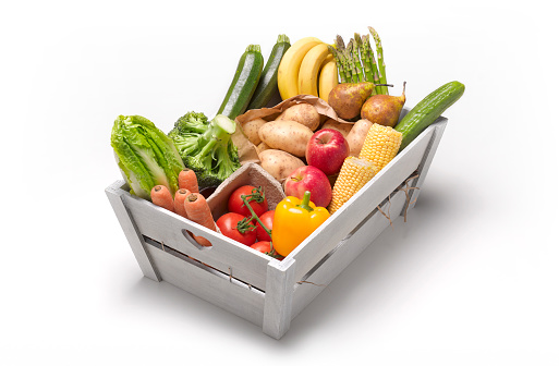 Convenience「5 A DAY FRESH FRUIT AND VEG BOX」:スマホ壁紙(3)
