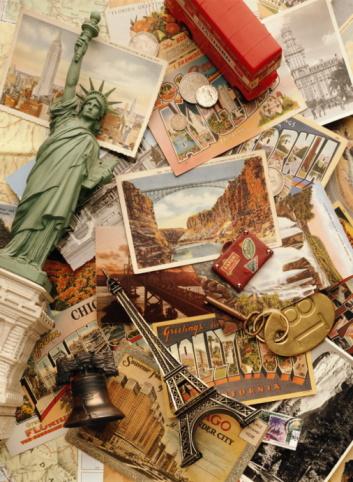 Pennsylvania「ELEMENTS OF TRAVEL ON PICTURE POSTCARDS」:スマホ壁紙(9)