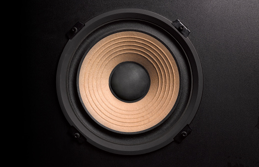 Noise「BASS LOUDSPEAKER WITH COPY SPACE」:スマホ壁紙(6)