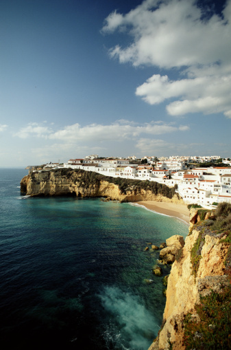 Vertical「CARVOEIRO BEACH ALGARVE, PORTUGAL」:スマホ壁紙(13)