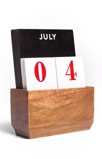 Patriotism「FOURTH OF JULY DESK CALENDAR」:スマホ壁紙(8)