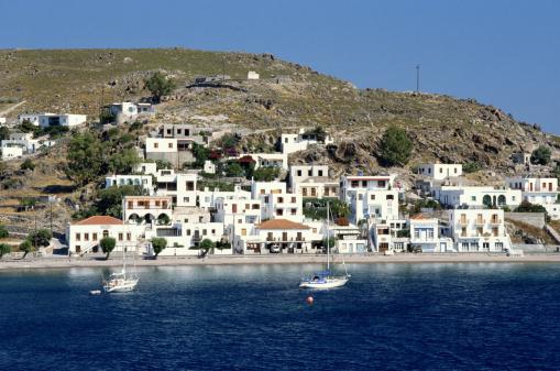 パトモス島「PATMOS, GREEK ISLAND」:スマホ壁紙(10)