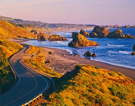 Oregon Coast「CAPE SEBASTIAN STATE SCENIC CORRIDOR」:スマホ壁紙(2)