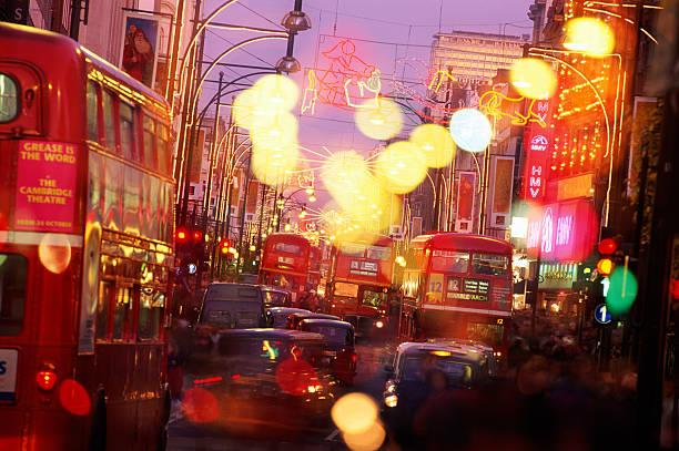OXFORD STREET AT CHRISTMAS IN LONDON:スマホ壁紙(壁紙.com)