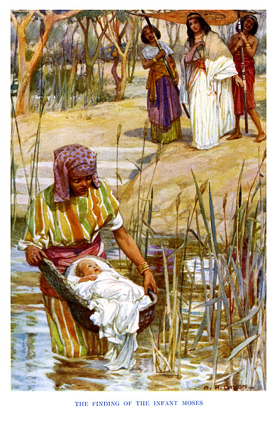 Grass Family「Moses the Prince is found in a cradle」:写真・画像(7)[壁紙.com]