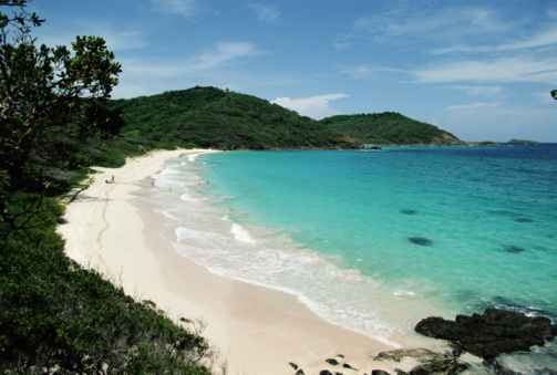 Saint Vincent And The Grenadines「MACARONI BEACH, MUSTIQUE, GRENADINES, CARIBBEAN」:スマホ壁紙(15)