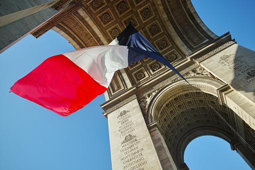 Arc de Triomphe - Paris「PARIS/ARC OF TRIOMPHE」:スマホ壁紙(1)