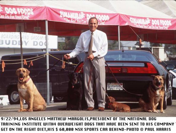 NSX「9/22/94-MATTHEW MARGOLIS PRESIDENT OF THE NATIONAL INSTITUTE OF DOG TRAINING WITH 4 OVERWEIGHT DOGS 」:写真・画像(16)[壁紙.com]