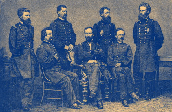 アメリカ合州国「American Civil War - Union Generals」:写真・画像(0)[壁紙.com]