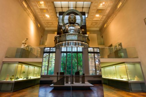 Buddha statue「CERNUSCHI MUSEUM, PARIS, FRANCE」:スマホ壁紙(1)