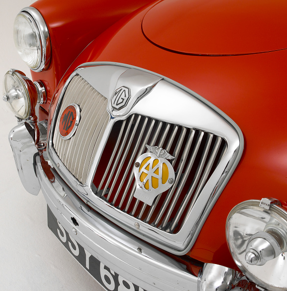 Vehicle Grille「1957 MG A」:写真・画像(19)[壁紙.com]