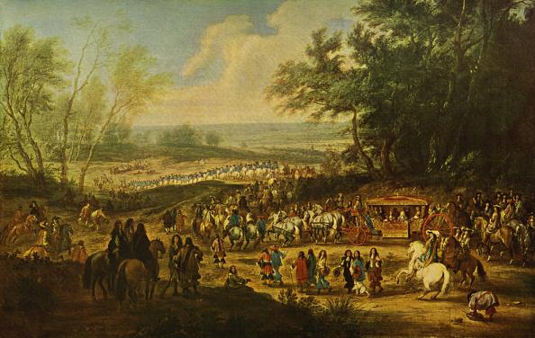 17th Century「King Louis XiV of France on his way to Vincennes - painting by Adam François van der Meulen.」:写真・画像(13)[壁紙.com]