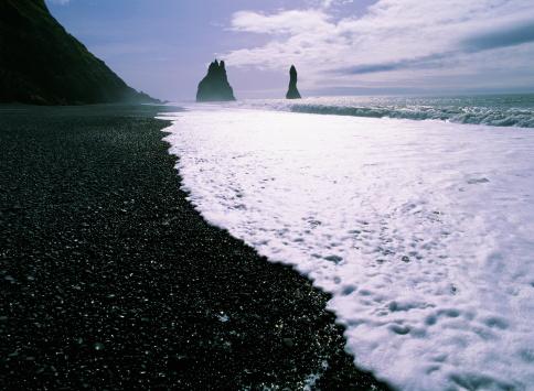 Basalt「BASALT ROCK, COASTLINE, ICELAND」:スマホ壁紙(8)