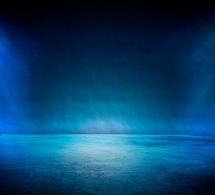Blue Background「Studio Background」:スマホ壁紙(4)