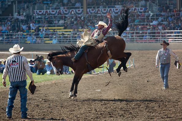 Pendleton - Oregon「Annual Pendleton Rodeo Round-Up Draws Crowds To Pendleton」:写真・画像(3)[壁紙.com]