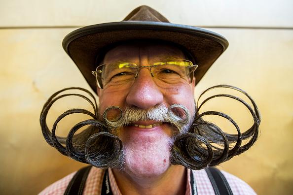 Mustache「World Beard And Moustache Championships 2015」:写真・画像(5)[壁紙.com]