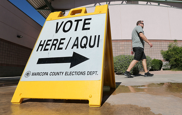 Arizona「Voters Across The Country Head To The Polls For The Midterm Elections」:写真・画像(1)[壁紙.com]