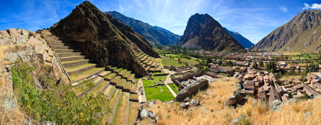 Ancient Civilization「View of Ollantaytambo」:スマホ壁紙(15)