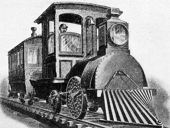 Land Vehicle「Electric locomotive by Edison, 1880」:写真・画像(14)[壁紙.com]