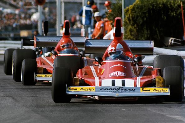 Ferrari「Clay Regazzoni, Niki Lauda, Grand Prix Of Monaco」:写真・画像(2)[壁紙.com]
