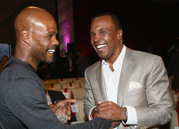 """Boxer Terry Norris「B. Riley & Co. And Sugar Ray Leonard Foundation's 6th Annual """"Big Fighters, Big Cause"""" Charity Boxing Night」:写真・画像(4)[壁紙.com]"""