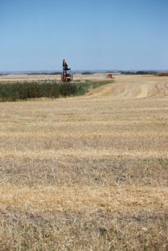 Moose Jaw「Combines in harvesting in field」:スマホ壁紙(10)