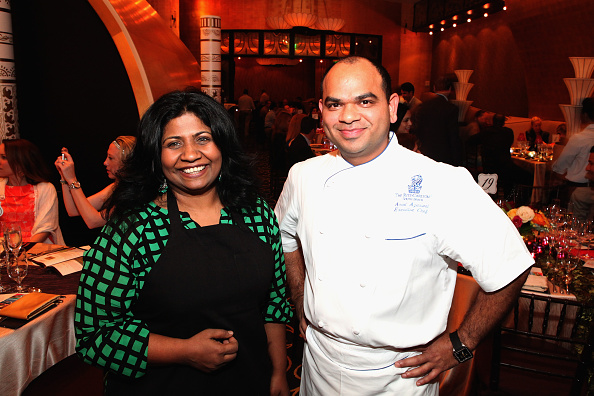 Land「Flavors Of India Dinner Hosted By Asha Gomez With Amol Agarwal - Part Of The New York Times Dinner Series - 2015 Food Network & Cooking Channel South Beach Wine & Food Festival」:写真・画像(11)[壁紙.com]
