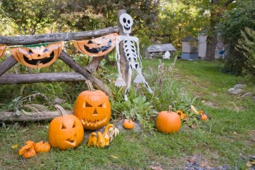 ハロウィン「Halloween decorations」:スマホ壁紙(14)