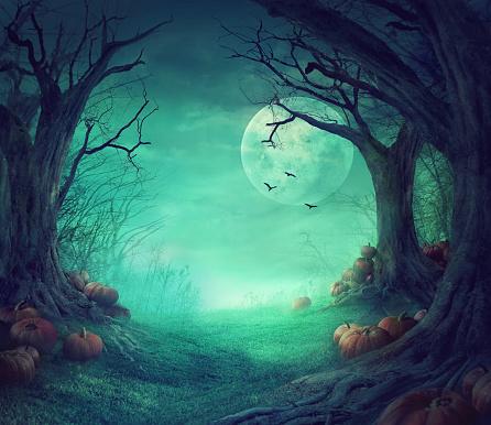 Spooky「Halloween design」:スマホ壁紙(10)