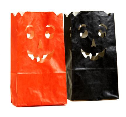 トリックオアトリート「Halloween decorative bags」:スマホ壁紙(12)