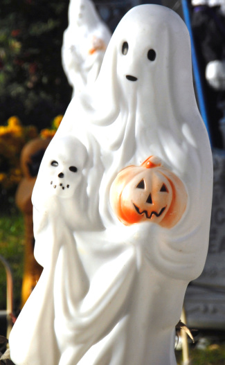 ハロウィン おばけ「Halloween decoration」:スマホ壁紙(14)