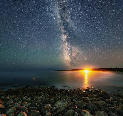 Milky Way「Milky Way Campfire」:スマホ壁紙(4)