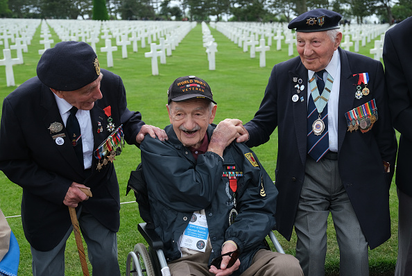 Sean Gallup「U.S. Veterans And Families Commemorate D-Day 75th Anniversary In Normandy」:写真・画像(18)[壁紙.com]