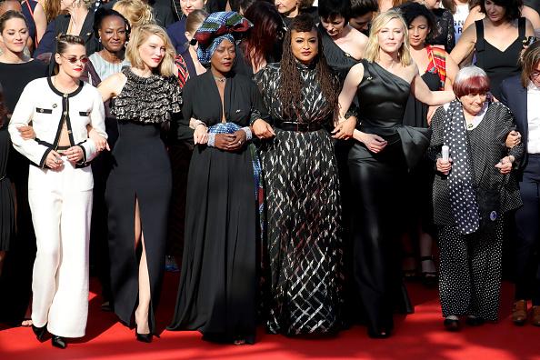 "Cannes「""Girls Of The Sun (Les Filles Du Soleil)"" Red Carpet Arrivals - The 71st Annual Cannes Film Festival」:写真・画像(5)[壁紙.com]"
