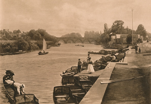 Water's Edge「The Thames At Maidenhead, 1902」:写真・画像(19)[壁紙.com]