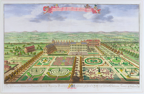 Flowerbed「Kensington Palace London 1730」:写真・画像(10)[壁紙.com]