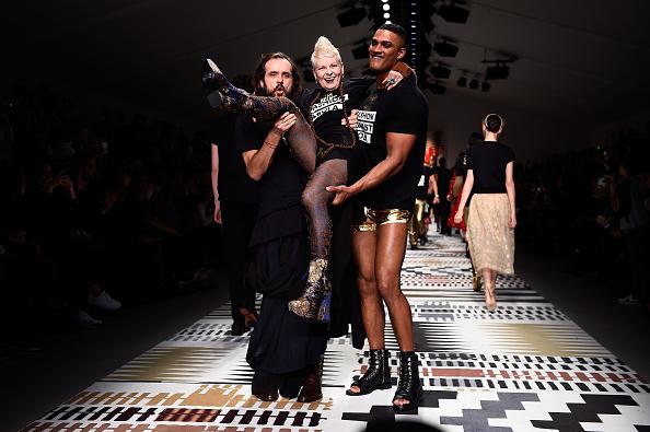 Vivienne Westwood - Designer Label「Fashion For Relief - Runway - LFW FW15」:写真・画像(7)[壁紙.com]