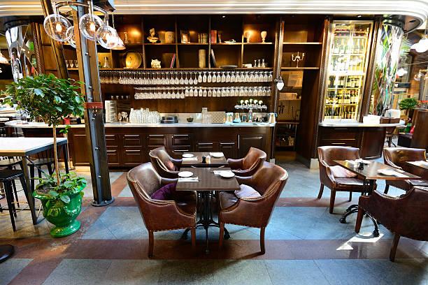 Café in office building:スマホ壁紙(壁紙.com)