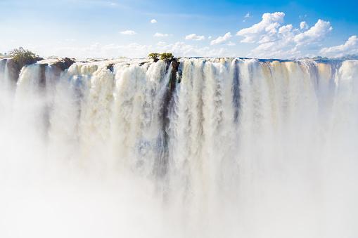 Stream - Flowing Water「Victoria Falls from Zambia」:スマホ壁紙(8)