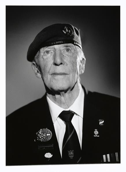 Christopher Furlong「Portraits Of British D-Day Veterans:  Ron Minton」:写真・画像(5)[壁紙.com]