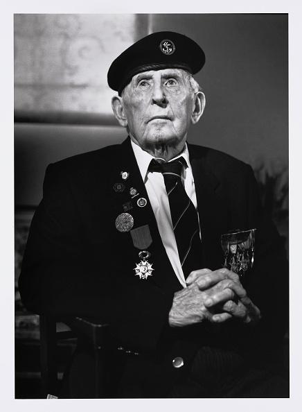 Christopher Furlong「Portraits Of British D-Day Veterans:  Charlie Barnes」:写真・画像(2)[壁紙.com]
