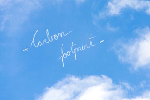 文字「二酸化炭素排出量」:スマホ壁紙(8)