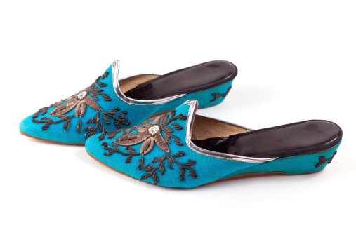 Embroidery「Slippers from Turkey」:スマホ壁紙(7)
