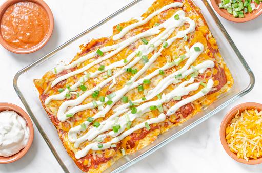 Ketogenic Diet「Keto ground beef enchiladas casserole」:スマホ壁紙(14)