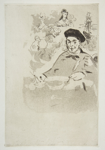 Beret「Frontispiece For An Edition Of Les Ballades By Théodore De Banville」:写真・画像(10)[壁紙.com]