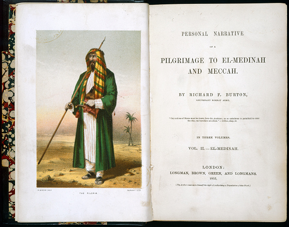 Persian Gulf Countries「Personal Narrative Of A Pilgrimage To El-Medinah And Meccah By Richard Burton 1855」:写真・画像(2)[壁紙.com]