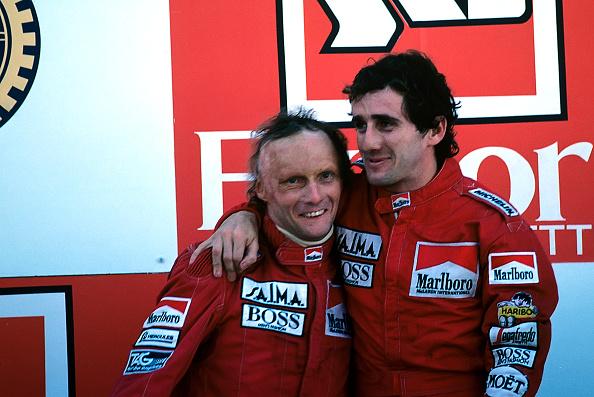 F1レース「Niki Lauda, Alain Prost, Grand Prix Of Portugal」:写真・画像(1)[壁紙.com]